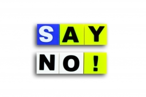 """No"" can be positive"